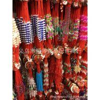 厂家直销  转运珠玉石红绳手链 可调节大小可混批