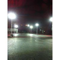 标准室外篮球场照明灯国家规定安装多高