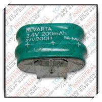 2.4V 200mAH 2/V200H,VARTA电池