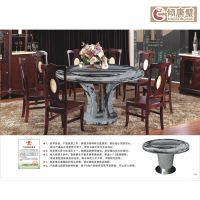 九龙壁厂家直销水墨祥云中式家具 超大超轻复合圆桌台2014年新品