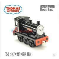 黑色道格拉斯火车头 合金托马斯小火车玩具 美泰正品托马斯