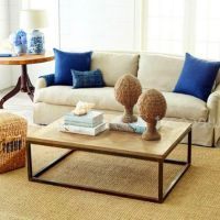 大唐铁艺工艺品实木家具批发 客厅时尚复古茶桌 茶几咖啡桌