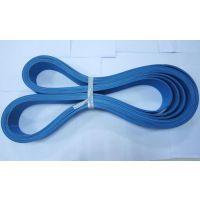 专业生产4.0-6.0厚双面蓝糊盒机皮带,不掉粉、 不脱层的双面蓝糊盒机皮带