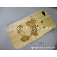 苹果竹制手机外壳,iphone4/4s木制手机外壳,深碳竹外壳 ,白竹外壳