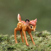 迪士尼小鹿斑比Bambi微景观多肉园艺DIY造景摆件花园摆饰