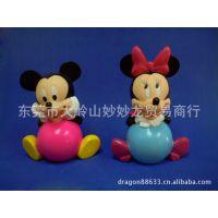 供应搪胶迪士尼米老鼠系列 玩具公仔、PVC玩具人偶、动漫公仔等