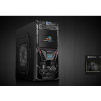征途3游戏电脑机箱 U3游戏机箱 台式电脑主机机箱工厂批发黑