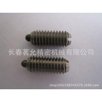供应德国GN615.1-NI带螺纹的闩头弹簧销 不锈钢一字槽口 所有机械均可