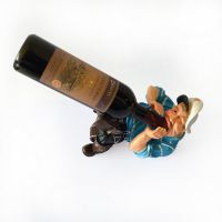 欧式创意树脂红葡萄酒架 酒瓶架酒鬼水手款餐厅酒柜用品乔迁礼品