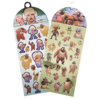 广博【满减】熊出没PVC卡通贴纸XCM7170透明防水儿童可爱创意贴纸