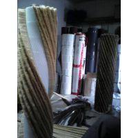 供应厂家直销优质砂布条刷,剑麻条刷,砂光机毛刷辊