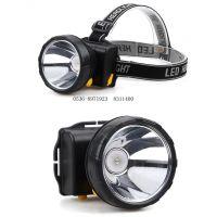 佳格LED强光头灯充电锂电户外夜钓鱼灯矿灯8W大功率户外用品