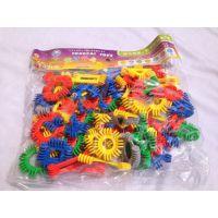 童才 幼儿园益智玩具  未来星积木 儿童桌面塑料拼插积木TC-3009