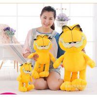 t特价大号创意卡通猫咪毛绒玩具 加菲猫 动漫周边 儿童***爱礼品