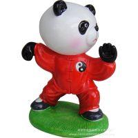 创意礼品东方工艺生日礼物民俗立体卡通摆件混批熊猫功夫太极