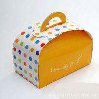 [厂家供应]手提式彩盒 食品包装盒 蛋糕糕点精美纸盒