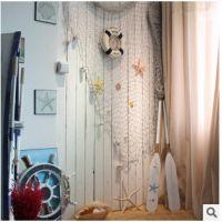 地中海装饰渔网婚庆橱窗幼儿园场景布置装饰墙面酒吧咖啡吧大网