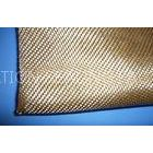 Corrosion Resistant Acrylic Glass Fibre Cloth Yellow , Plain Weave