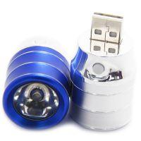手机移动电源 迷你型USB灯头 手机应急充电宝 强光照明手电筒