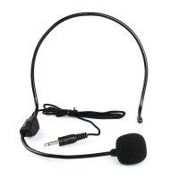 头戴有线话筒话麦 多功能扩音器麦克风 头戴耳麦螺纹厂家批发零售