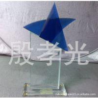 玻璃工艺厂定制加工异形玻璃工艺品 钟表玻璃 打孔磨边精加工玻璃