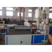 PVC钢丝增强透明软管生产线