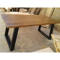 实木家具 复古办公家用桌子 咖啡桌实木餐桌 咖啡桌椅批发