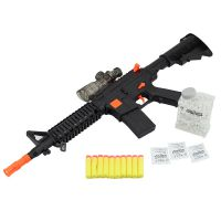 新品水弹枪 软弹枪 彩色吸水晶弹  夜鹰M16玩具枪  玩具枪