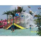 Kids Water Play Park , Splashers Water Playground With Water Curtain