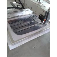 供应厚料电脑缝纫机 特大范围电脑花样机5040 箱包厂全自动缝纫设备