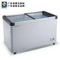供应百利冷柜 WC/WD-320卧式平面展示柜冰箱 低温冷藏柜 饮料冷柜