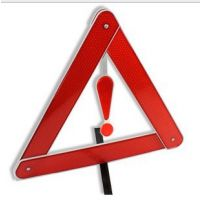 汽车用三角架 车载反光三脚架 停车警示牌 折叠三角架 安全停车牌