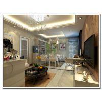南宁碧水天和三居室130㎡简约风格装修案例