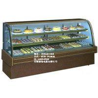 供应湖南长沙佳伯新款矮弧形蛋糕柜 定做超市新款蛋糕柜
