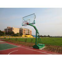 供应广东省固定式篮球架价格(图),石岩移动式带轮篮球架厂家,质量保证
