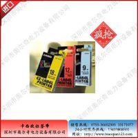 日本原装卡西欧XR-24RD标签色带XR-24RD1,24MM红底黑字现货销售