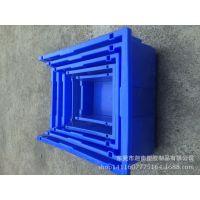 零件箱 组合式五金电子仓库斜口塑胶元件盒 螺丝盒 背挂中物料盒