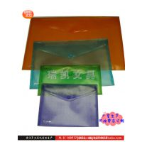 文件袋 塑料文件袋 透明塑料文件袋 广告PP透明塑料文件袋