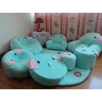 毛绒玩具 忧伤马戏团大象单人卡通沙发地毯凳子创意时尚一件代发