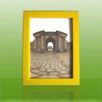 发泡PS相框5寸6寸7寸8寸10寸A4/A3照片加厚黄色像框相架定制厂商