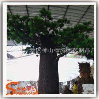 厂家特价批发仿真大松树 园林玻璃钢松树 绿化风景假树