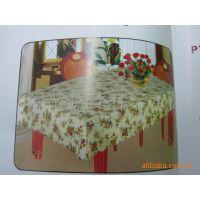 厂家直销 台布桌布110 PEVA 混纺 格子印花 欧式