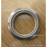 供应GANTER新品钢质开槽锁紧螺母GN 1804.1内置尼龙圈