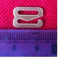 优质铜制批发透明文胸扣 隐形扣 八字扣塑料调节文胸扣