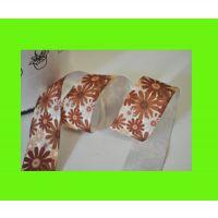 供应小花系列热转印缎带/织带/丝带/棉带 精品包装DIY饰品配饰凹版印刷热转印纸