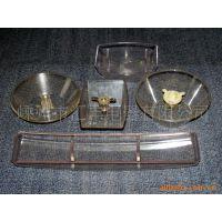 专业供应油烟机塑料配件油杯 厨房油烟机储油杯配件