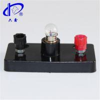 六鑫科教 小燈座 螺口 電學串聯 物理實驗器材 初中學教學儀器