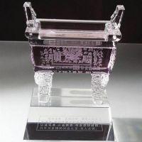 供应水晶奖杯水晶内雕水晶车模楼模定制