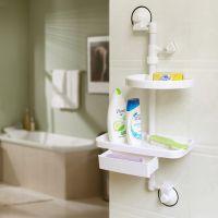 双庆牌沐浴组合架 强力吸盘式卫生间组合收纳架置物架 新品爆款