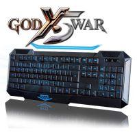 正品黑爵键鼠批发 黑爵AJ战神X5背光升级版游戏键盘 有线键盘